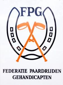 Logo Federatie Paardrijden Gehandicapten